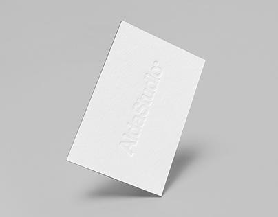 AidaStudio Business Cards