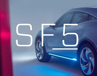 SF Motors BTS/Print Branding
