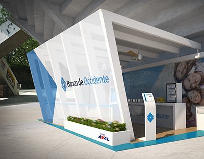 Stand Banco de Occidente / Feria de Cali 2014