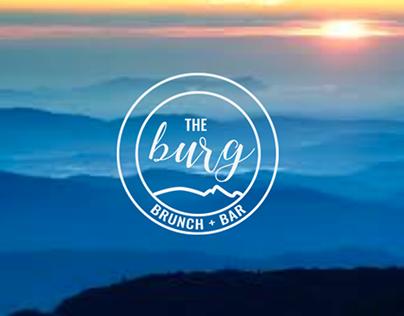 The Burg Restaurant Rebrand