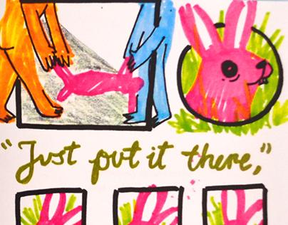 How to move a rabbit - fanzine