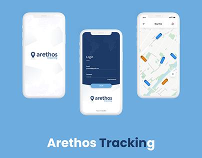 Arethos Tracking UI Design