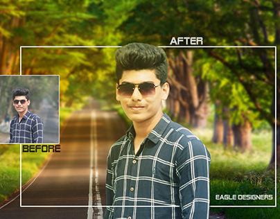 Photoshop Editing | Background Remove/Change | Resize