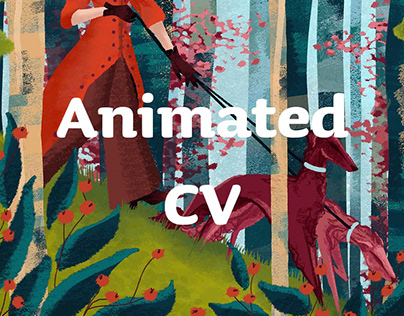 Animated Curriculum Vitae