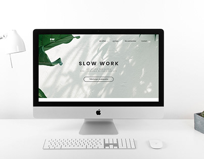 Website homepage for a commercial offer