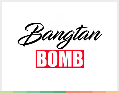 Bangtan Bomb svg Design | Typography Design
