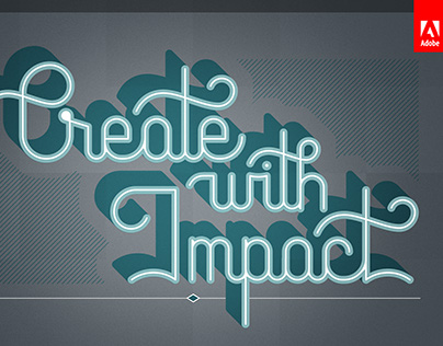 AdobeMAX Hand-lettered Promotional Designs