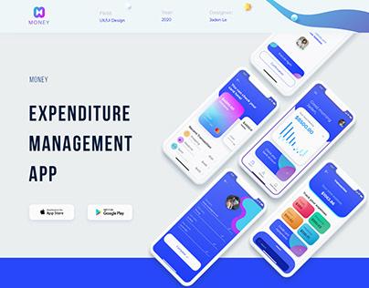 """Money"": Expenditure management (mobile app) | UX/UI"