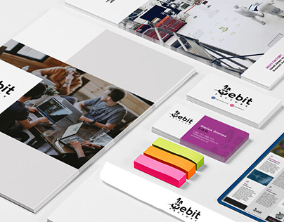 Stationery design for web development company