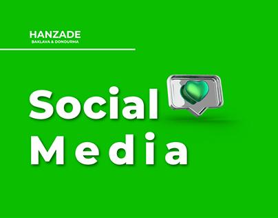 Hanzade Baklava&Dondurma Social Media Collection