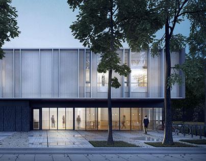Community centre in Szczecin