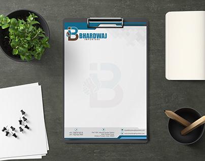 Designed Logo, Business Card & Letter head