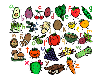 ABC fruits and vegetables (SPA)