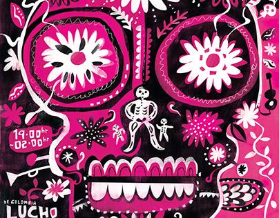Dia De Los Muertos Charity Poster - BUY!