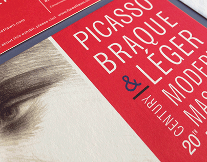 Forest Lawn Museum - Picasso exhibit invitation