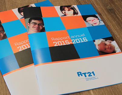 Annual Report - Regroupement pour la trisomie 21 (RT21)