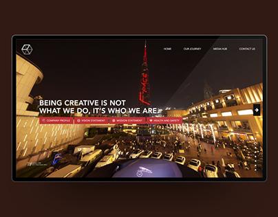 IBS Group - Event Management — Website Design Dubai