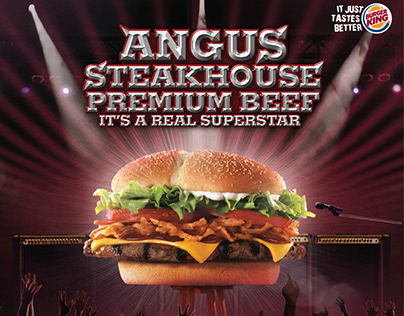 Burger King - Angus Steakhouse Premium Beef