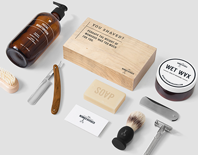 The Nomad Barber - Rebrand