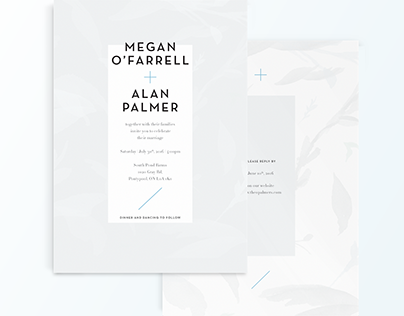 O'Farrell + Palmer Wedding
