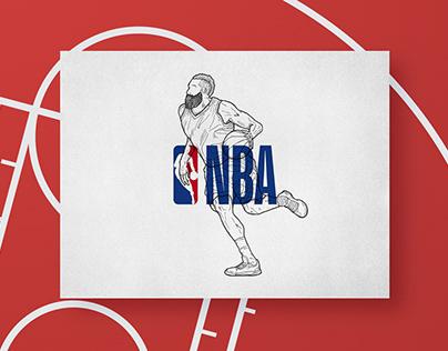 Sketchbook NBA Players