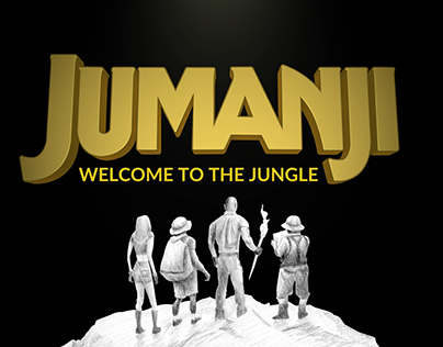 Jumanji: Welcome to the Jungle - Title Sequence