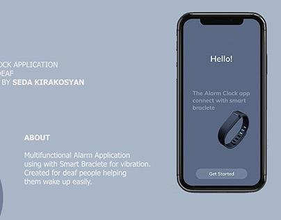 The Alarm app for the Deaf