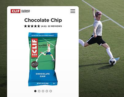 Clif Bar DTC Website Redesign
