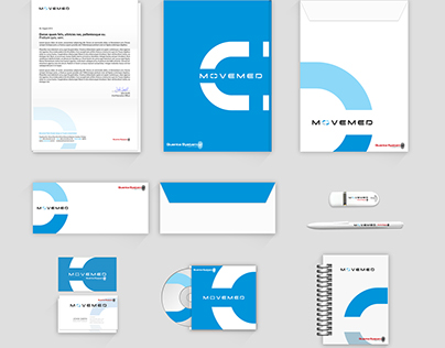 Movemed Corporate Identity Design