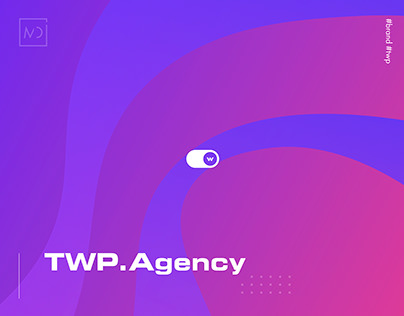 Stylish design for TWP.Agency