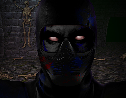 Real MK2 Noob Saibot [Photomanipulation]
