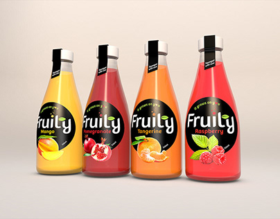 Fruity - Brand identity and Packaging design