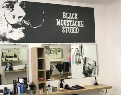 Black mustache studio