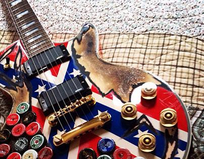 Zakk Wylde's Rebel Guitar Clone