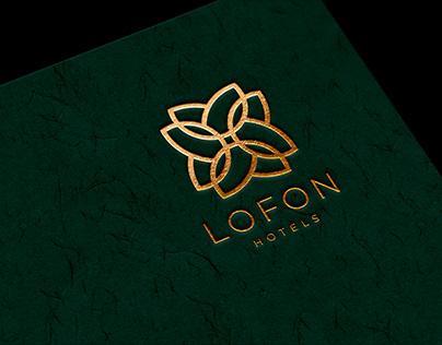 Lofon hotels Logo & Branding Identiyi Design