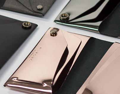 MIR snap wallets by Almond Studio