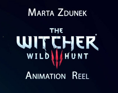 Animation reel of few characters from Witcher 3