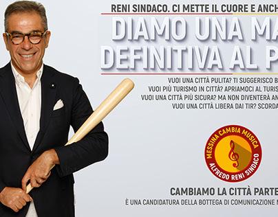 moraci propaganda inventa Reni Sindaco