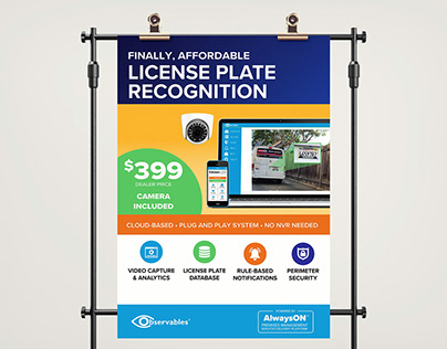 Observables: License Plate Recognition Kit Launch