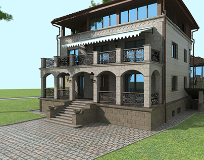 Mansion 300 m2