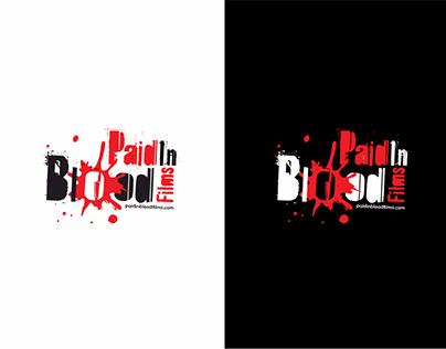 Paid In Blood Films (Logo + Branding)