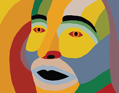 """Sonia Delaunay 130"" International poster campaign"