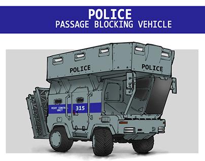 Police vehicle #1