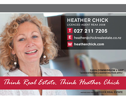 Heather Chick Real Estate A6 Flyer