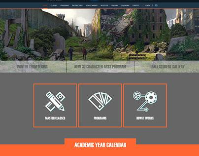 CGMA home page design