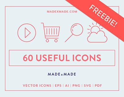 FREEBIE | Line Icons – Useful