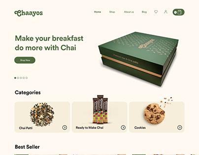 Chaayos Website - Tea