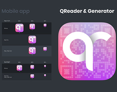 Icon for mobile app QReader & Generator