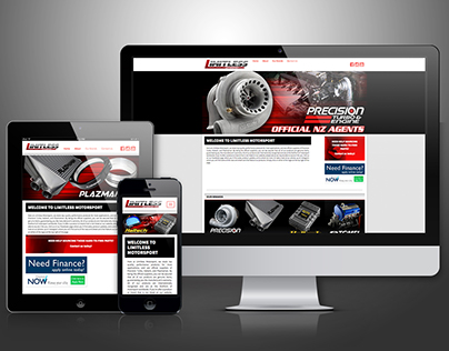 Limitless Motorsport Branding