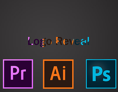 Logo Reveal - Adobe softwares